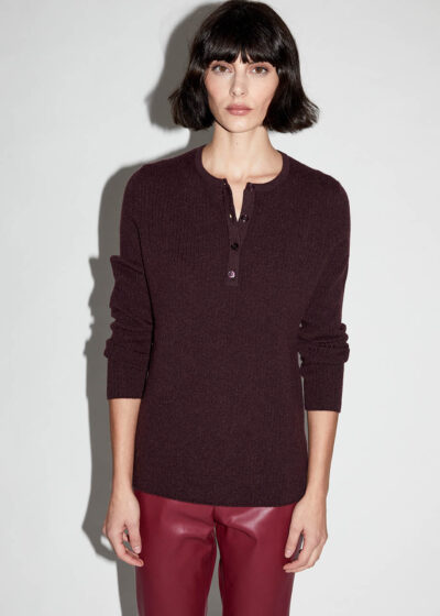 ALYKI - C1201 - Seraph sweater with little ribbed mesh - 002