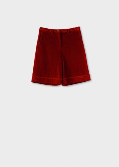 ROSSO35 - N1325P - High-waisted bermuda - 002
