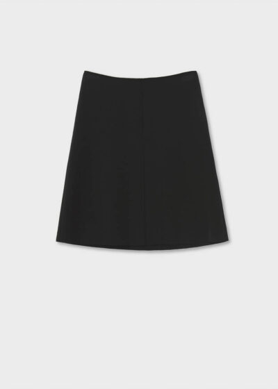 ROSSO35 - S4984G - Wool raw-cut skirt - 002