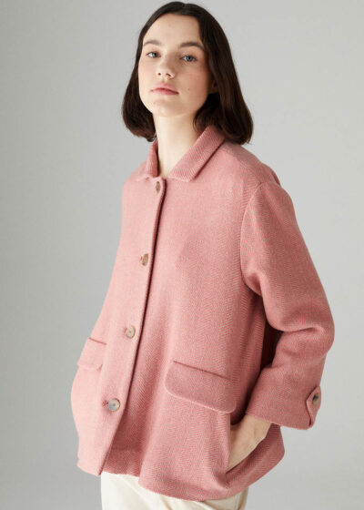 ROSSO35 - S5740A - Supersoft oversized jacket - 001