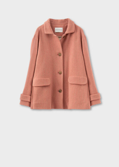 ROSSO35 - S5740A - Supersoft oversized jacket - 002