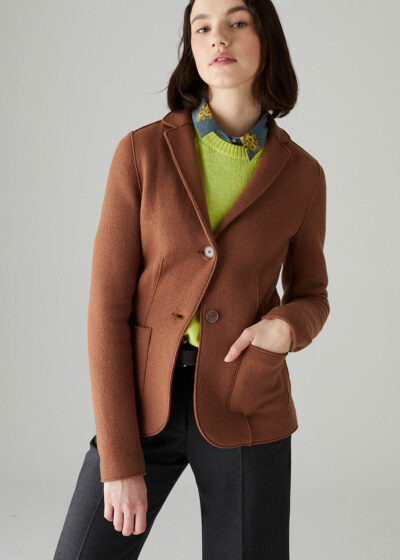 ROSSO35 - S5758A - Boiled-wool jacket - 001