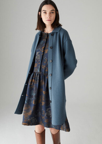 ROSSO35 - S5762A - Boiled-wool shirt-coat - 001