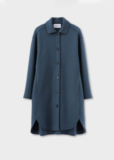 ROSSO35 - S5762A - Boiled-wool shirt-coat - 002