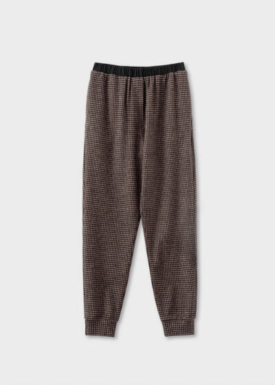 ROSSO35 - S5794PJ - Cotton and wool track pants - 002