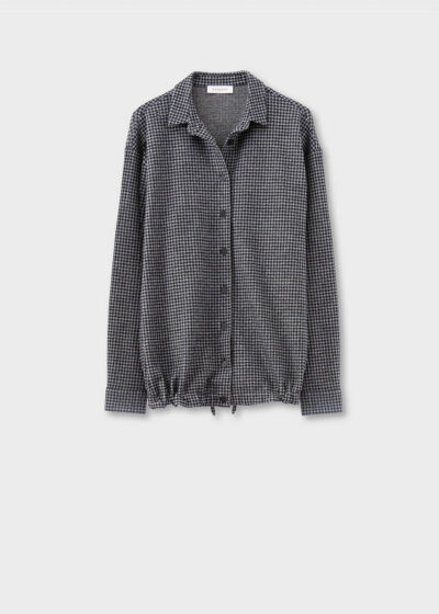 ROSSO35 - S5795A - Cotton and wool shirt-jacket - 002