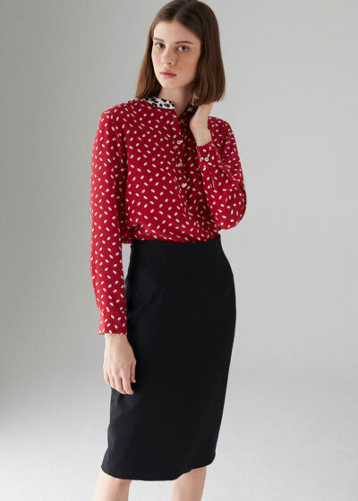 ROSSO35 - S5809G - Pencil skirt - 001