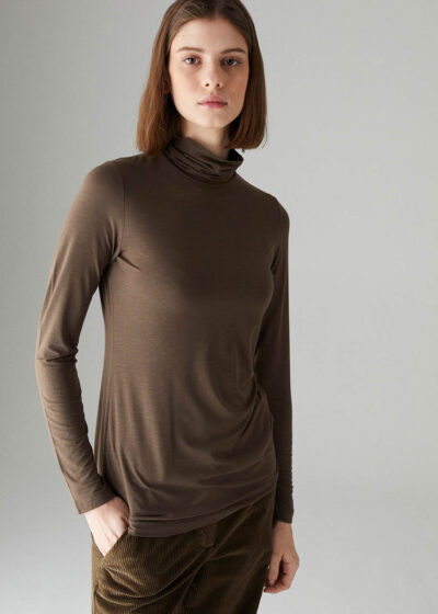 ROSSO35 - S5876TS - Turtleneck t-shirt - 001