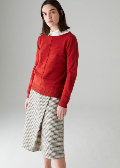 ROSSO35 - S5899MG - Wool-silk-cachemire sweater - 001