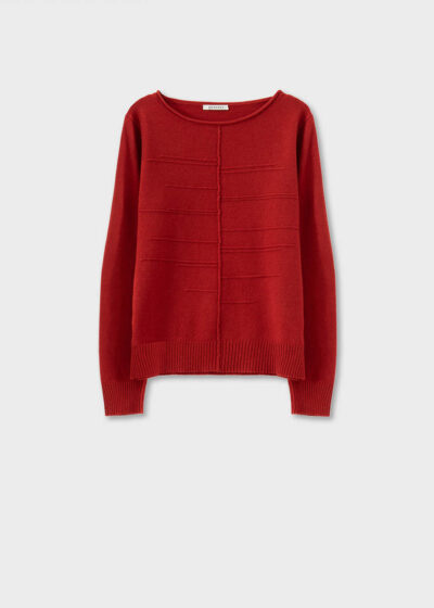 ROSSO35 - S5899MG - Wool-silk-cachemire sweater - 002