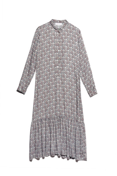 ANNAMARIA PALETTI - FIORE - Dress with viscouse printing - 001