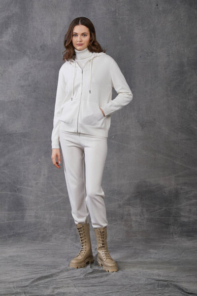 KANGRA WOMAN - W2_A_3512_11 - jacket with zip and hood - 001