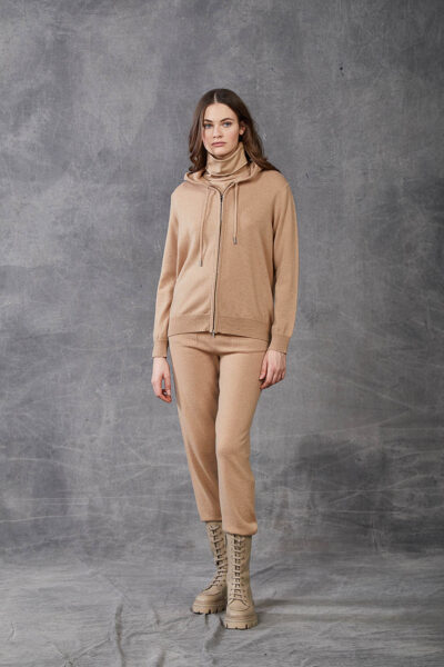KANGRA WOMAN - W2_A_3521_11 - jacket with zip and hood - 002