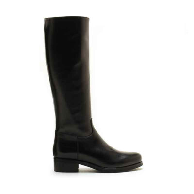 MICHELE LOPRIORE - 2008 - To-the-knee nappa leather boots - 001