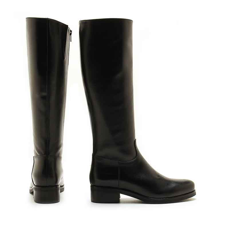 MICHELE LOPRIORE - 2008 - To-the-knee nappa leather boots - 002