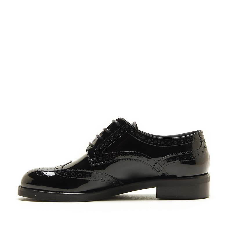 MICHELE LOPRIORE - 5213IN - Patent leather lace-up shoes - 002