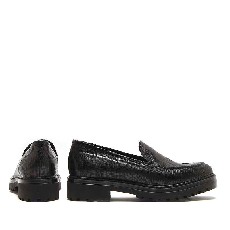 MICHELE LOPRIORE - 6431IN - Tejus nappa leather loafer - 002