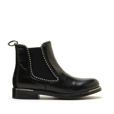 MICHELE LOPRIORE - 6941 - Nappa leather studded chelsea boots - 001