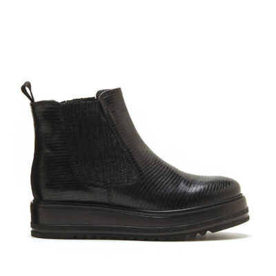 MICHELE LOPRIORE - 7062 - Tejus leather chelsea boots with high-crepe rubber sole - 001