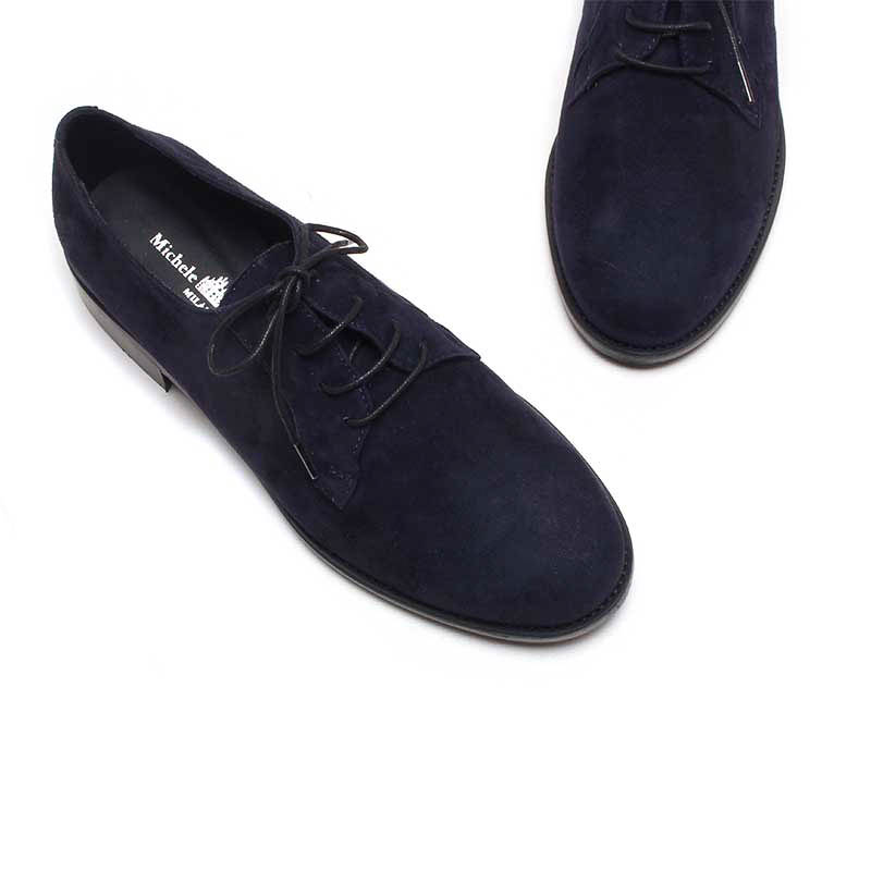 MICHELE LOPRIORE - 920 - Suede lace-up shoes - 002