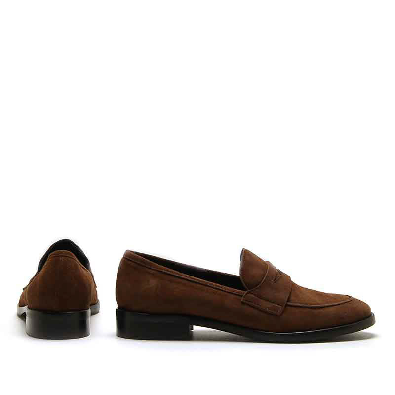 MICHELE LOPRIORE - 983 - Suede loafer - 003