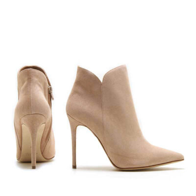 MICHELE LOPRIORE - A44100 - Nappa leather ankle boots with stiletto heels - 001