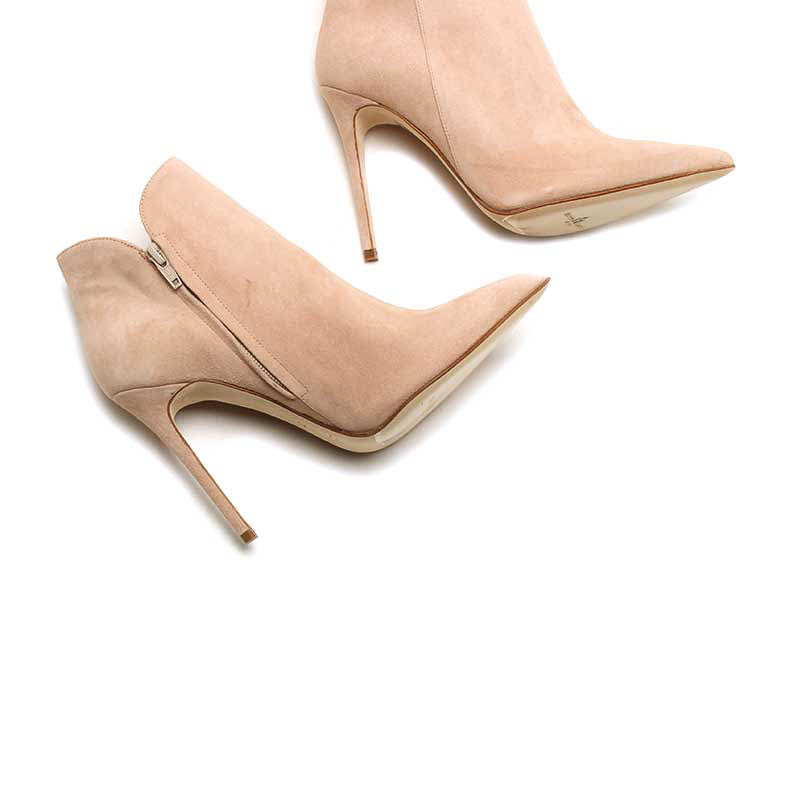 MICHELE LOPRIORE - A44100 - Nappa leather ankle boots with stiletto heels - 002