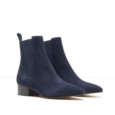 MICHELE LOPRIORE - A44184 - Nappa ankle boots with elastic boots - 001