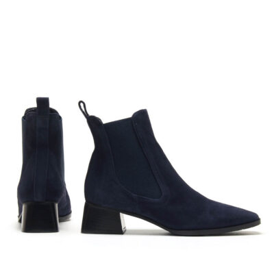 MICHELE LOPRIORE - A45001 - Nappa ankle boots with square end - 001