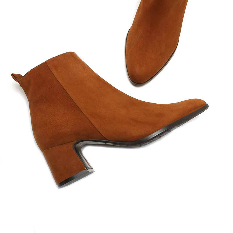 MICHELE LOPRIORE - A46022 - Suede ankle boots - 002