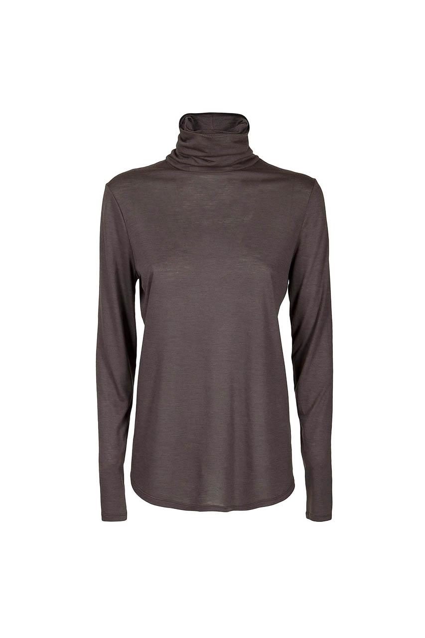 PUROTATTO - 1200 - Turtle neck long-sleeved t-shirt - 002