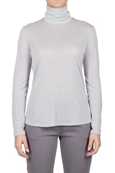 PUROTATTO - 1301 - Turtle neck long-sleeved t-shirt