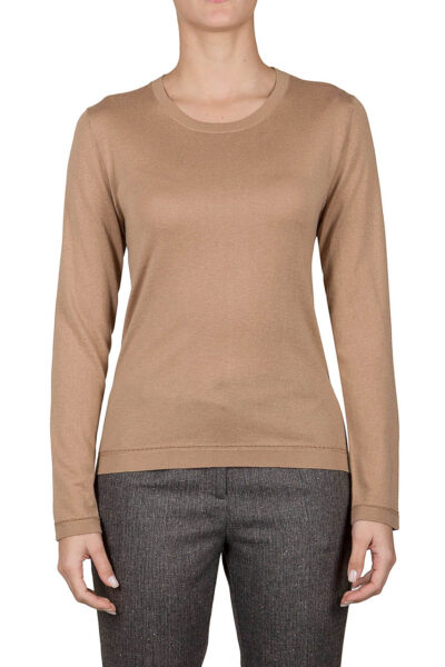 PUROTATTO - 2000 - Round neck long-sleeved sweater