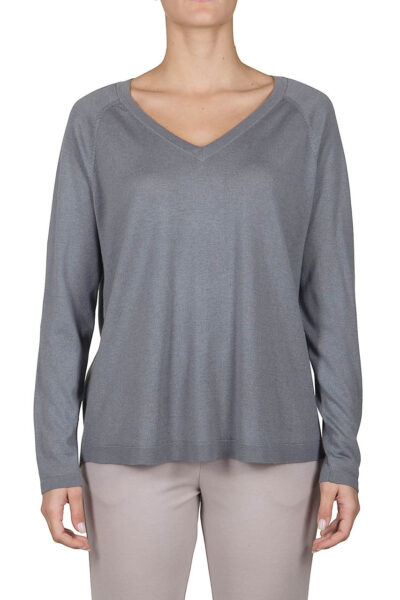 PUROTATTO - 2001 - V-neck relax-shaped sweater