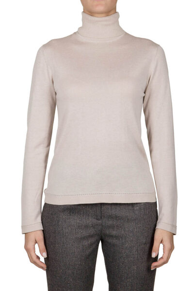 PUROTATTO - 2002 - Turtle neck long-sleeved sweater