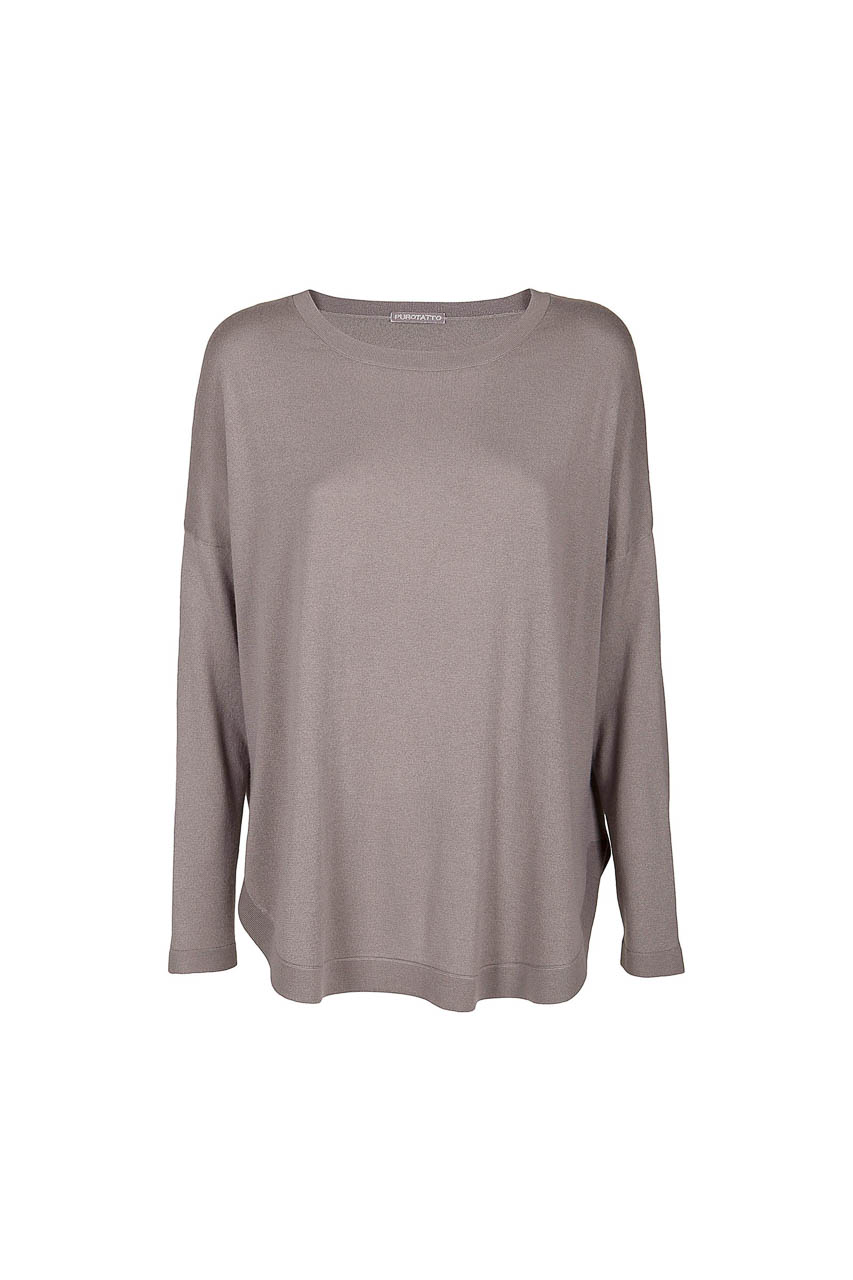 long sleeves and dropped shoulders - 001