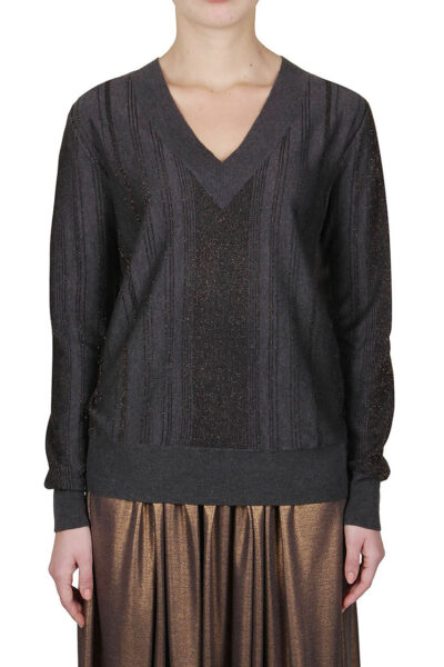 PUROTATTO - 2011 - V-neck long-sleeved sweater