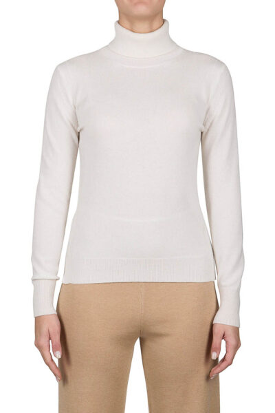 PUROTATTO - 2102 - Turtle neck slim-fit sweater with long sleeves - 001