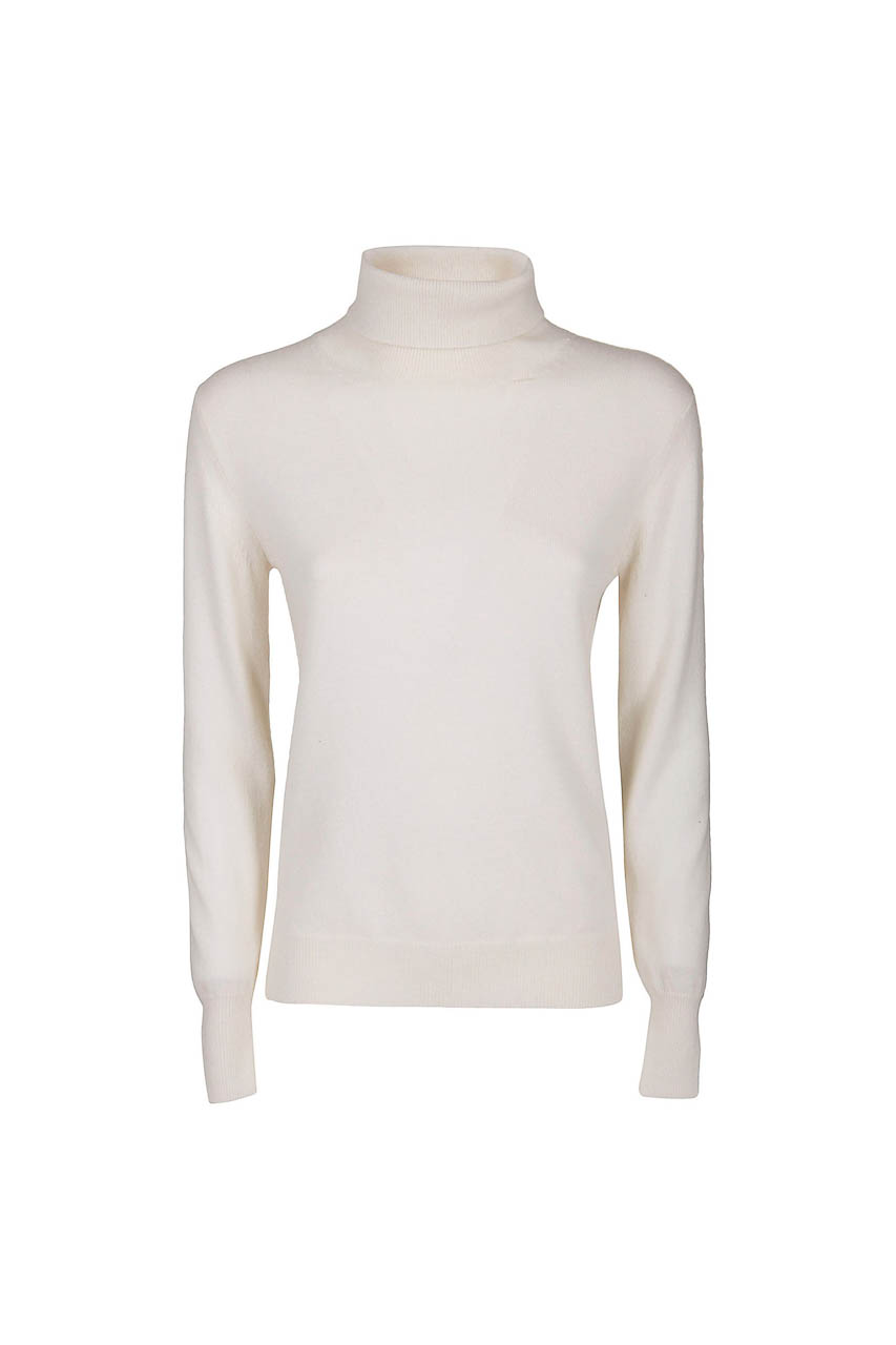 PUROTATTO - 2102 - Turtle neck slim-fit sweater with long sleeves - 002
