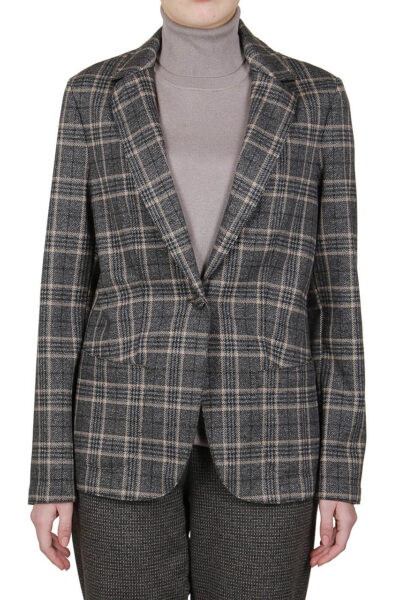 PUROTATTO - 8001 - Jacquard jacket with patch pockets - 001