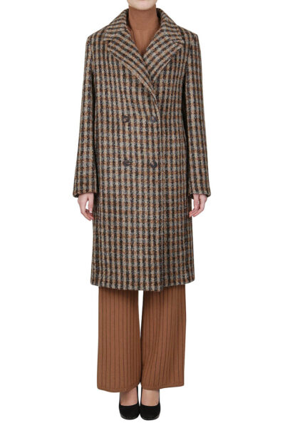 PUROTATTO - 8021 - Double-breasted coat - 001