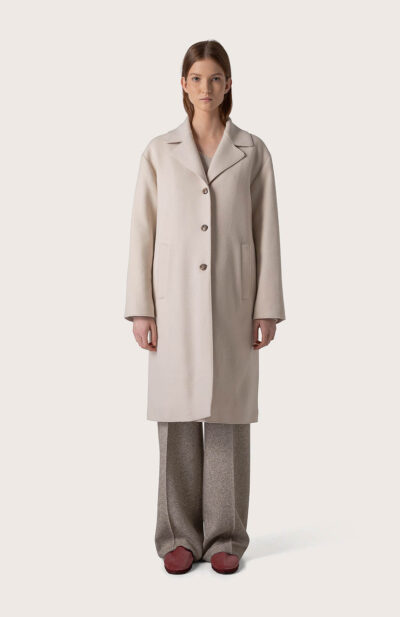 SEVENTY - CP0432 - coat padded feather - 001