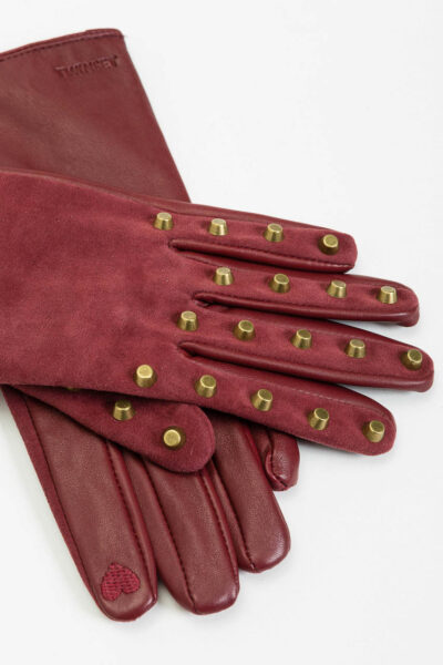 TWINSET - 212TO5010 - Leather Gloves - 002