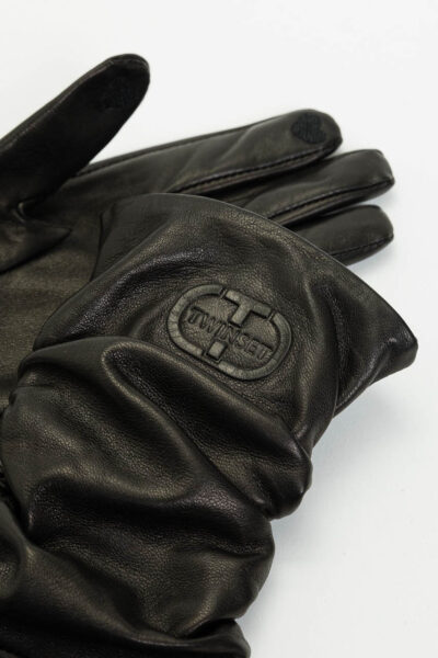 TWINSET - 212TO5013 - Leather Gloves - 002